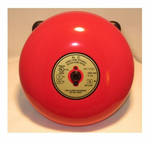 Fire Alarm Bell6 inch 120 voltIncludes Bell Back Box