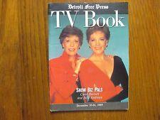 Dec. 10, 1989 Detroit Free Press TV Book Magazine(JULIE  ANDREWS/CAROL  BURNETT)