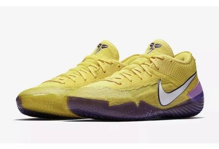 NEW Sz 13 Nike Kobe AD NXT 360 Basketball shoes Yellow Strike AQ1087-700
