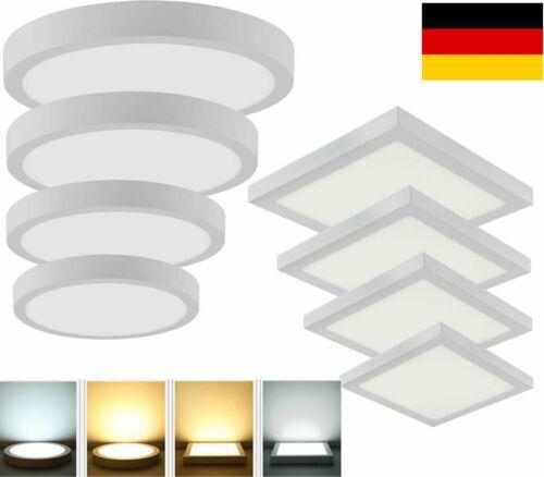 LED Panel Aufputzlampe Deckenleuchte Deckenlampe Aufputz Wandleuchte 6-24W