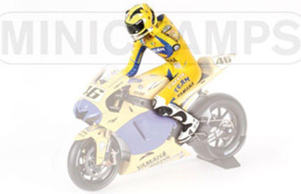 MINICHAMPS 312 060146 Riding Figure VALENTINO ROSSI Yamaha MotoGP 2006 1 12th