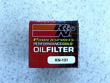 K&N Oil Filter 2008 SUZUKI AN400 BURGMAN 400 KN-131