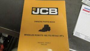 jcb 9800 4572 parts manual robot 160 170 180 including hf s ebay rh ebay com JCB Skid Steer in Operation JCB Savannah