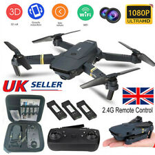 Drone X Pro WIFI FPV 4K HD Camera 3+Batteries Foldable Selfie RC Quadcopter UK