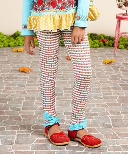 Matilda Jane Once Upon a Time Illusion Legging Volants Pantalon Taille 4 Neuf avec étiquettes dans sac