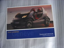 Smart Crossblade  Postkarte / Post-Card, International Geneva Motor Show 2002