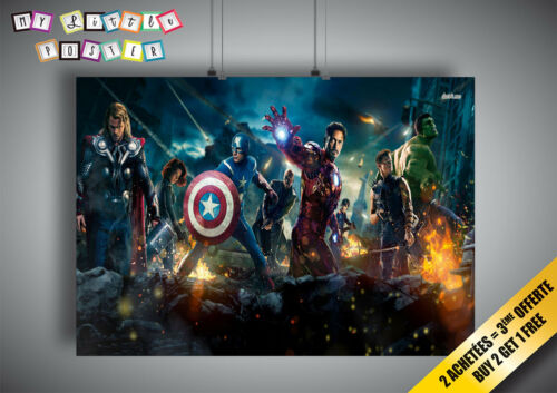 Poster Avengers Comic marvel art