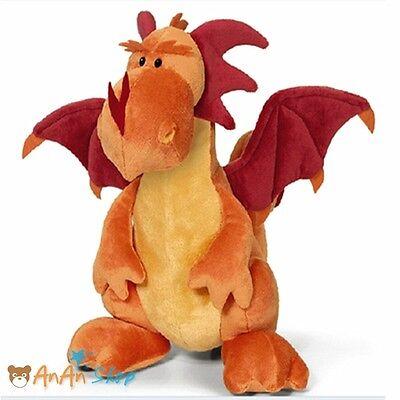 "New 17/"" 45cm Stuffed Dragon Plush Dinosaur Two Heads Pterosaur Soft Toy 3 Styles"