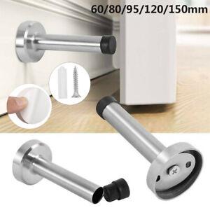 Thickened-Stainless-Steel-Rubber-Door-Stopper-Buffer-Stop-Holder-Catch-Door
