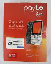 Samsung Montage QWERTY Slider - Paylo Virgin Mobile Cell Phone READ DESCRIPTION