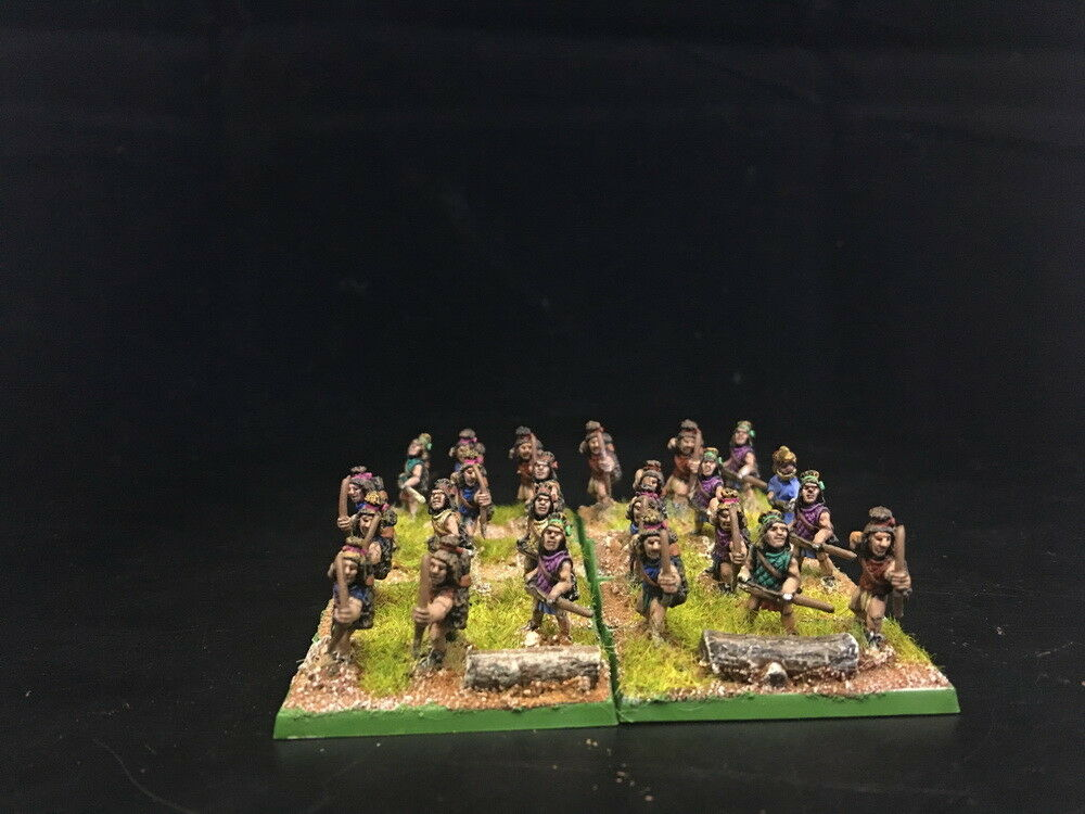15mm Ancient DPS painted DBM FOG Inca Archers GH813