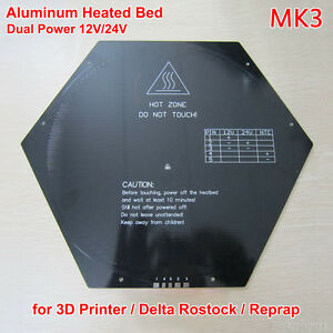 Active Components Provided 3d Printer Mk3 Standard Aluminum Plate 3mm Hot Bed Reprap Integrated Circuits