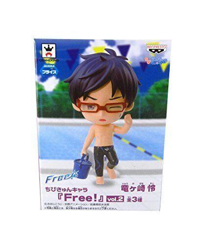 "Rei Ryugazaki Iwatobi Swim Club Figure Volume 1 Aprox 3/"" Banpresto Free"