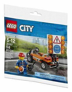 LEGO-CITY-30357-Baustellen-Absicherung-POLYBAG-NEU-OVP