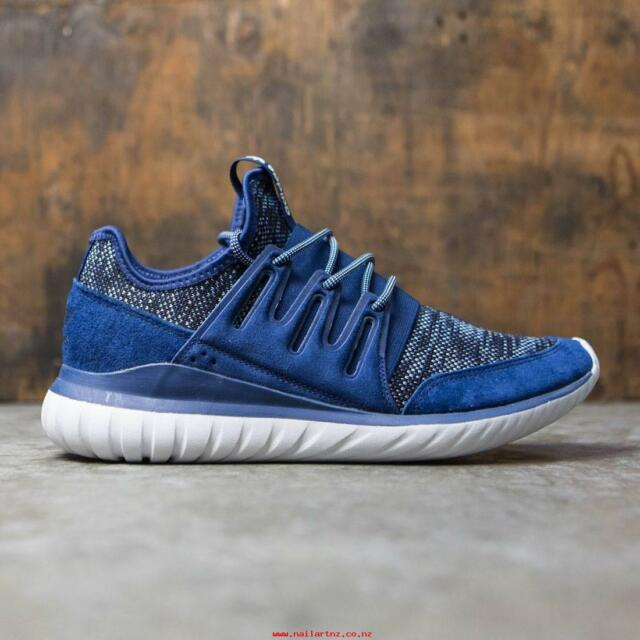 b5e42764e7d328 adidas Tubular Radial Mens Bb2396 Mystery Tactile Blue Athletic Shoes Size  9.5
