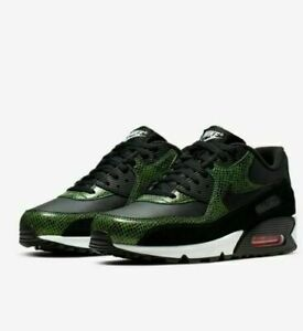 Details about Nike Air Max 90 QS Green Python Snake Skin CD0916 00 Size 9 Men's