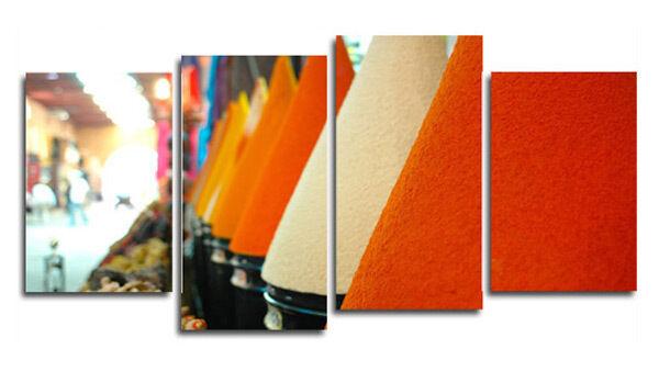 Kitchen Canvas Drucken Spices Food Kunst Bild FAD7