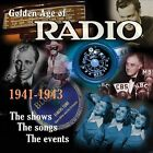 The Golden Age of Radio, Vol. 2 [Box] by Various Artists (CD, Nov-2013, 3 Discs, Dynamic (not USA))