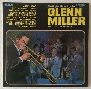 GLENN-MILLER-THE-ORIGINAL-RECORDINGS-1969-UK-10-TRACK-STEREO-VINYL-LP-RECORD