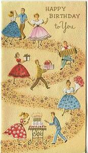 Vintage Square Dancing Accordion Music Birthday