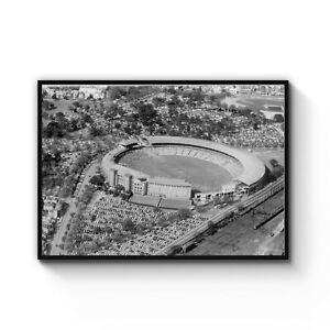 Details about Melbourne Cricket Ground Vintage Photo MCG Australia Print  Poster A4 - B1 Framed