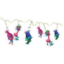 Item 1 Trolls String Lights 15 Led White Kids S Lightning