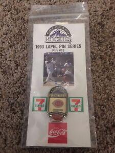 Colorado-Rockies-Cincinnati-Reds-Coca-Cola-SGA-Pin-13-1993-Lapel-Pin-Series
