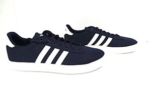 official photos 7e8c5 62578 Image is loading Men-Adidas-Daily-2-0-Sneaker-Canvas-DB0285-