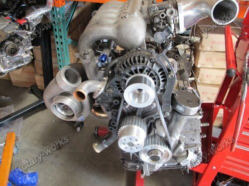 Gilmer Drive Pulleys 17mm For 12A 13B 20B RX7 FD FC RX3