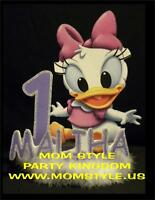 Baby Daisy Duck Cake Topper Birthday Party Supply N&