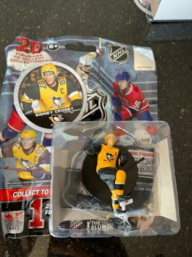 Sidney Crosby Pittsburgh Penguins 2.5'' Series 2020 NHL Imports Dragon Figure