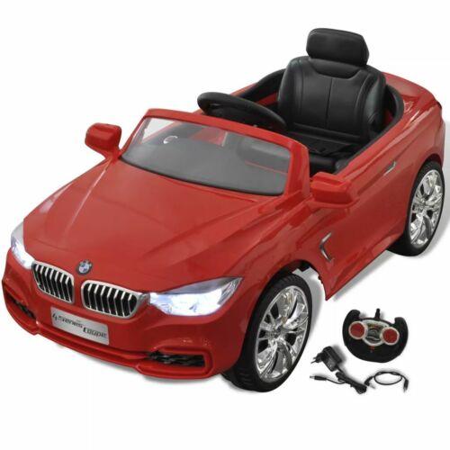 vidaXL Automobile a Batteria BMW Rossa Gioco Cavalcabile Telecomando Bambini