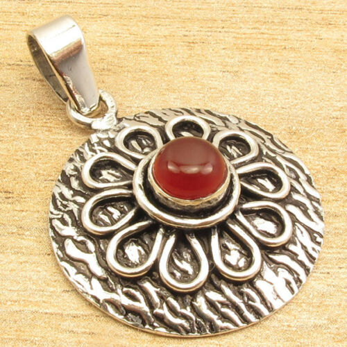 925 Silver ETHNIC Oxidized Pendant Vintage Style Discount Jewelry