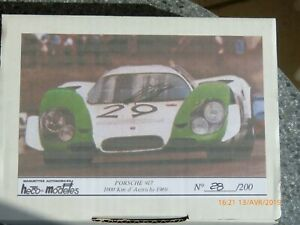 Heco Modeles-porsche 917-1969-1000-km D'autriche-1-43 Édition Limitée
