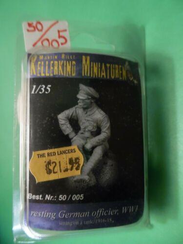 Kellerkind Miniaturen Resting German Officer WWI Resin Figure 1//35 kit