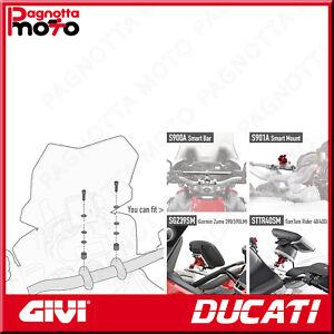 KIT VITERIA PER MONTARE LO SMART BAR S900A O S901A DUCATI MULTISTRADA 1200 15>18