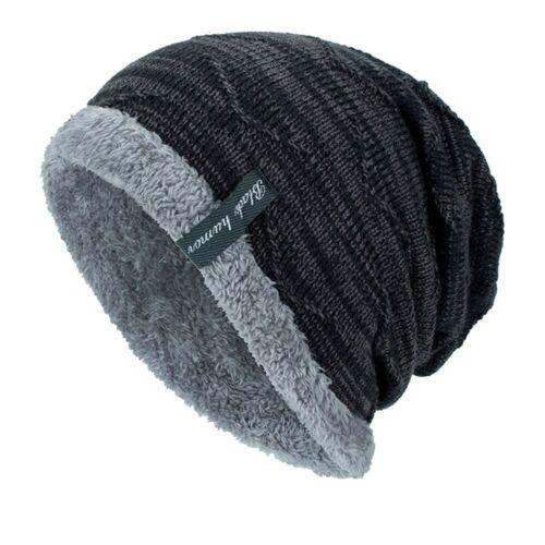 **Winter Beanies Slouchy Chunky Hat for Men Women Warm Soft Skull Knitting Caps