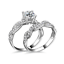 2PCS-Charm-925-Silver-Sapphire-Women-Wedding-Ring-Jewelry-Valentine-039-s-Day-Gift thumbnail 11