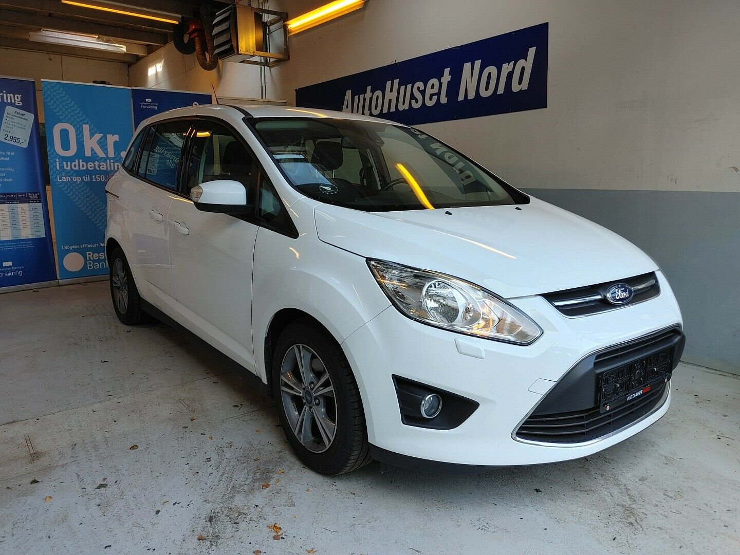 Ford Grand C-MAX 1,6 TDCi 115 Edition 5d - 129.800 kr.