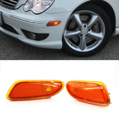 [SCHEMATICS_48IS]  2x Amber Side Marker Lights Decorate Parts For Mercedes-Benz C-Class W203  01-07 | eBay | Mercedes Benz C280 4matic 2007 Side Markers Repair Wire Harness |  | eBay