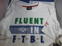 Umbro Premium Cotton Soccer Futbol /casual Jersey Authentic