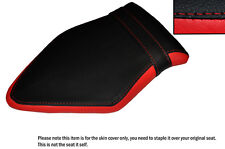 RED & BLACK CUSTOM FITS BMW S 1000 R 14-16 NAKED REAR LEATHER SEAT COVER