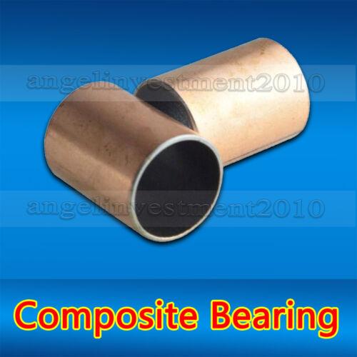 1 auto lubrifiante Composite Roulement Bague Manche 30 mm 10pcs SF 34 mm 25 mm