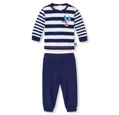 SCHIESSER Baby Anzug Capt´n Sharky Freizeitanzug Schlafanzug Gr 68 74 80 86 92
