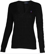 Ralph Lauren 5340 Womens Pink Cashmere Pullover Sweater Shirt M ...