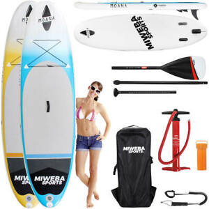 Stand-Up-Paddle-SUP-Board-Surf-Brett-aufblasbar-305-amp-325cm-15cm-Paddling-Paddel