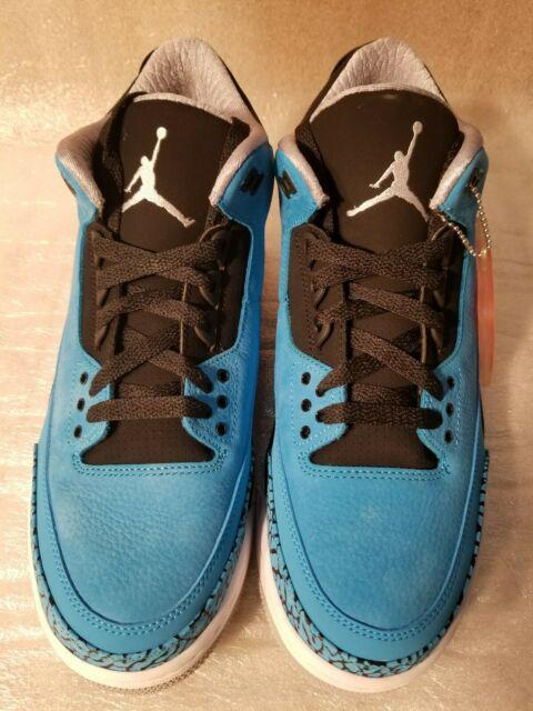 buy popular bddb0 69918 Nike Air Jordan Retro 3 Powder Blue Size 12 Cement