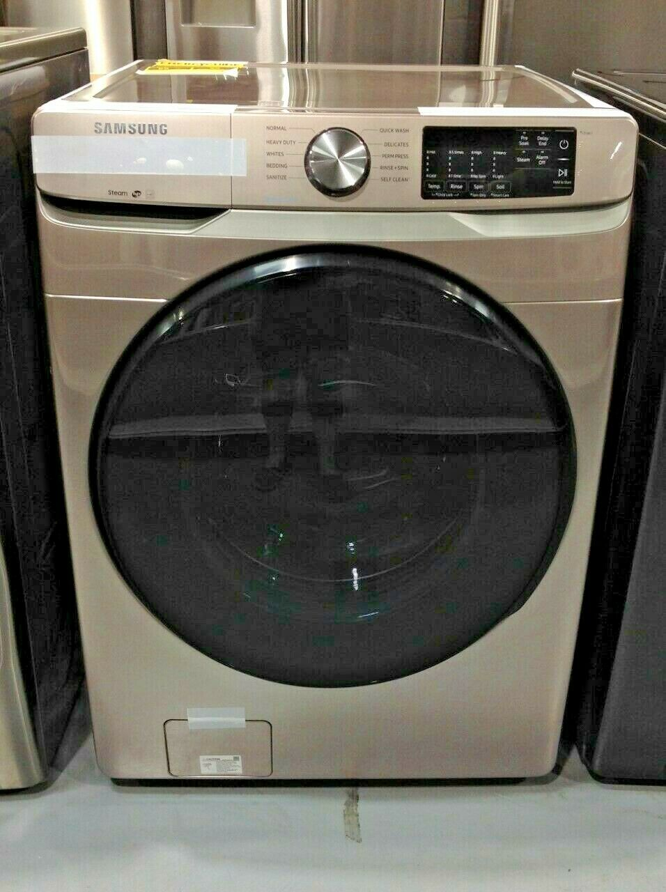 Washer Smart 27 Inch 4.5 cu. ft. Front Load Samsung WF45R6100AC Only Pickup