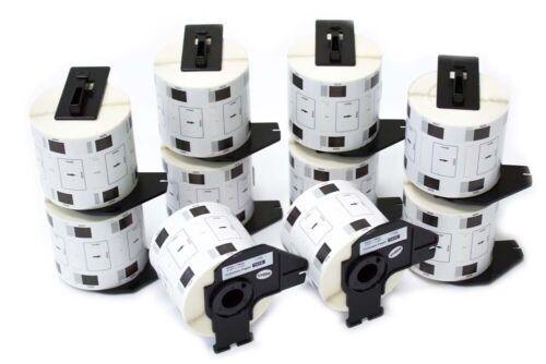 5x Premium Schriftbänder für Dymo 45014 Blaue Schrift auf Weiss-Easy Print Serie