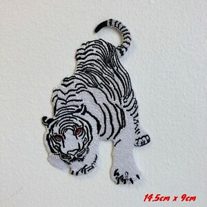 White-Snow-Tiger-Embroidered-Iron-Sew-on-Patch-1847